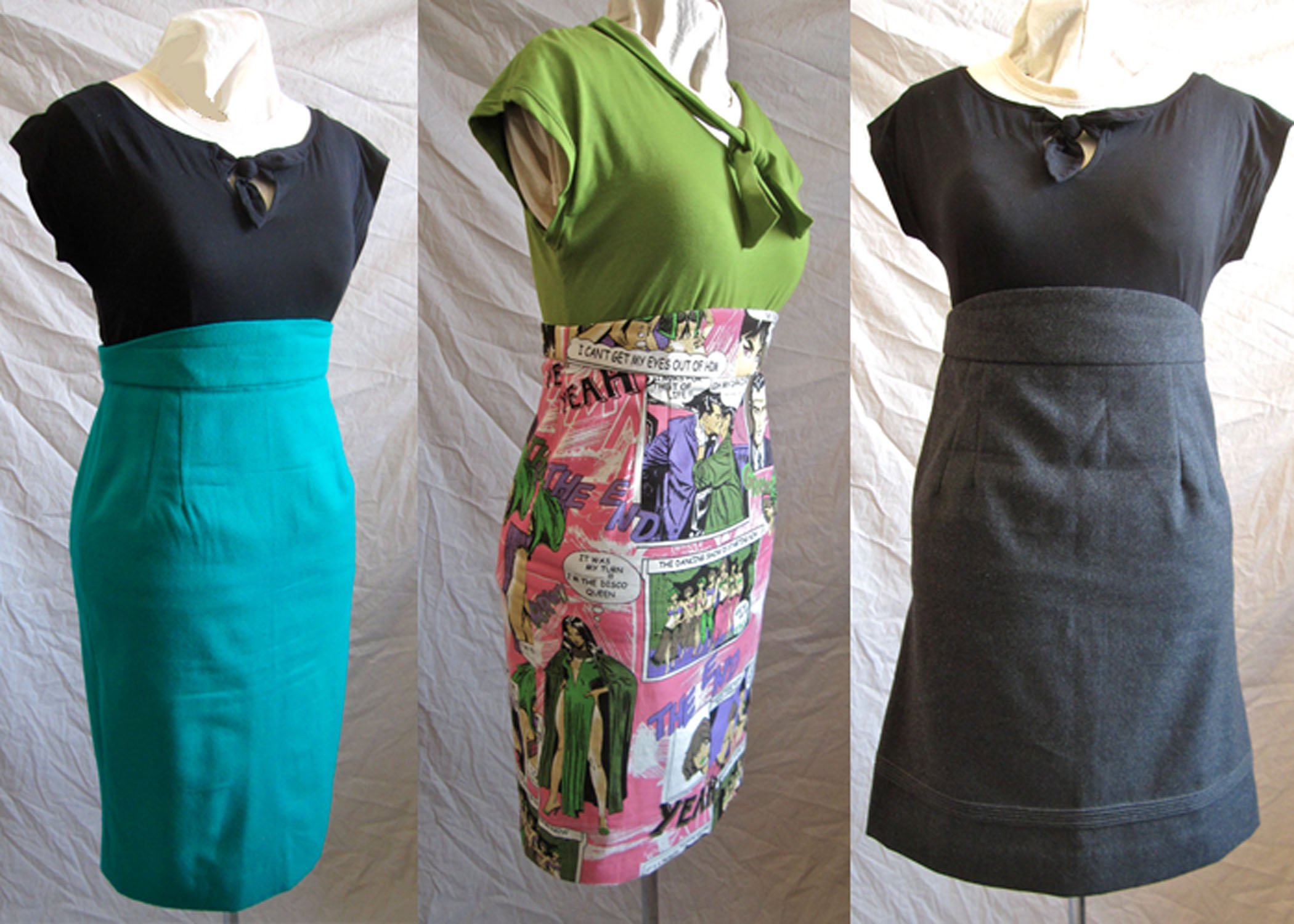 Gertie's Pencil Skirt x3