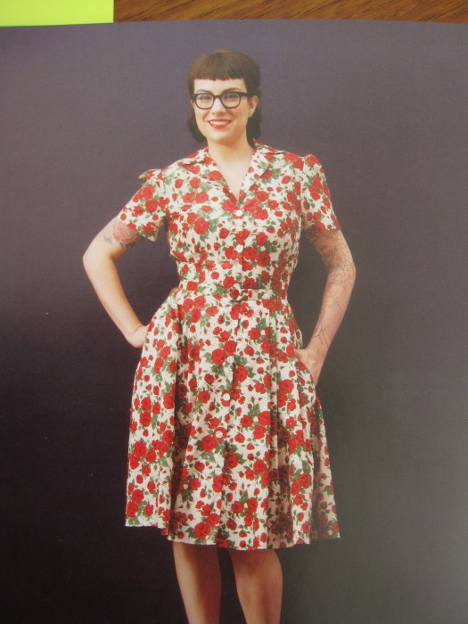 The Shirtwaist Dress from Gertie's New Book for Better Sewing
