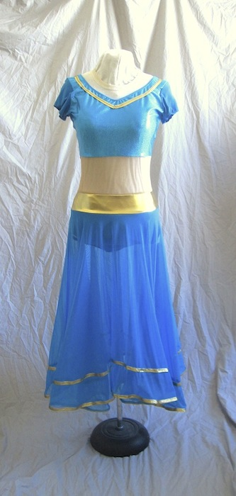 Bollywood Dance costume 2013: Front View