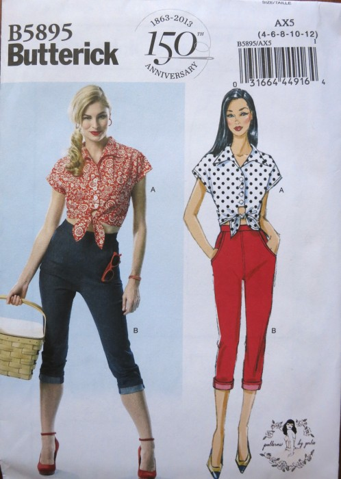 Butterick B5895 (Patterns by Gertie)