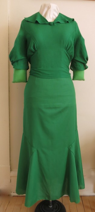 EvaDress 1934 Frock (as separates) by Heather Lee Bea 2013.