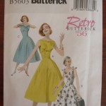 Retro Butterick B5603 (1956)