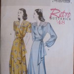 Retro Butterick B5152 (1948)