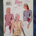 Butterick 6700 Retro 1944 Pattern