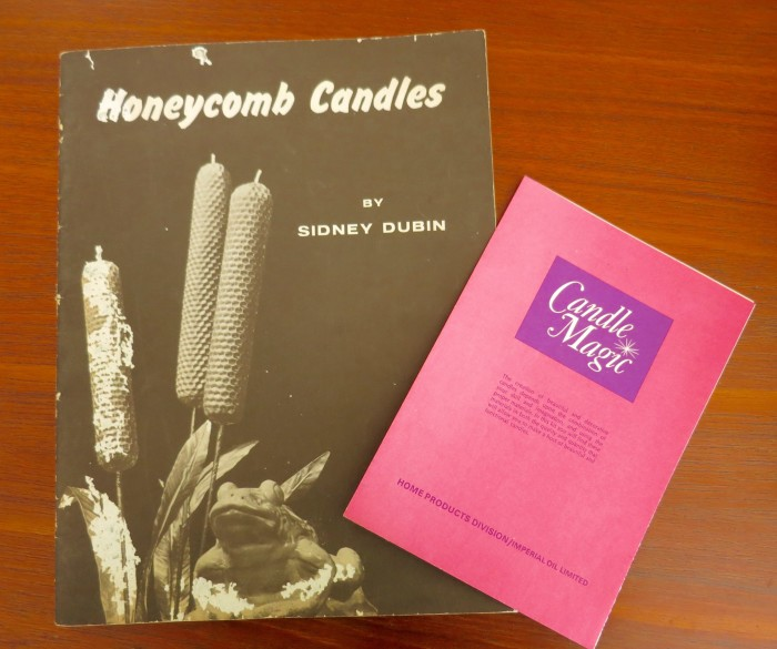 Vintage Candle making book and order form.