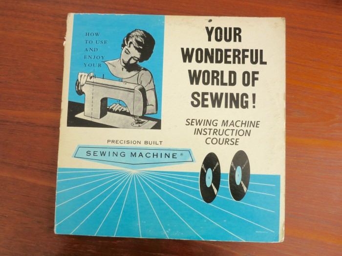 Sewing Machine Instruction Course on vinyl (???)