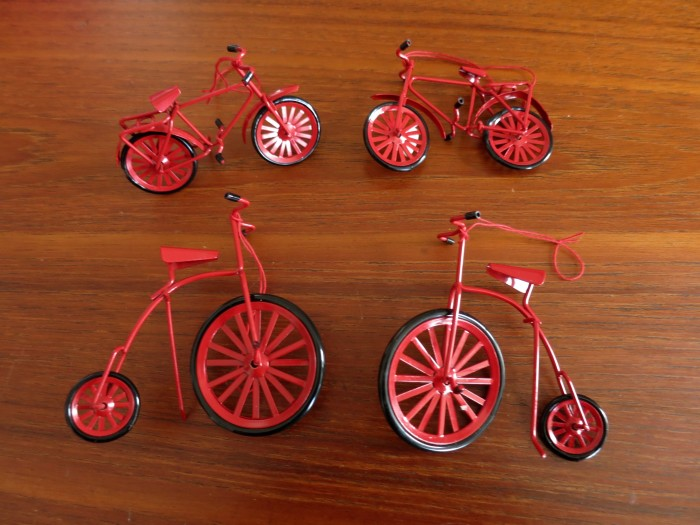 Bicycle Ornaments