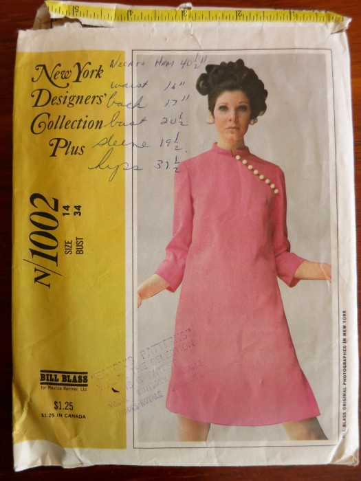 New York Designers Collection Plus N/1002 Bill Blass (1967)