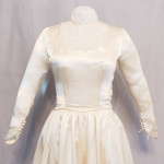 Original 1949 Wedding Gown Bodice