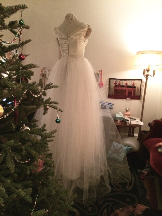Ghost bride in my living room... HLB 2016