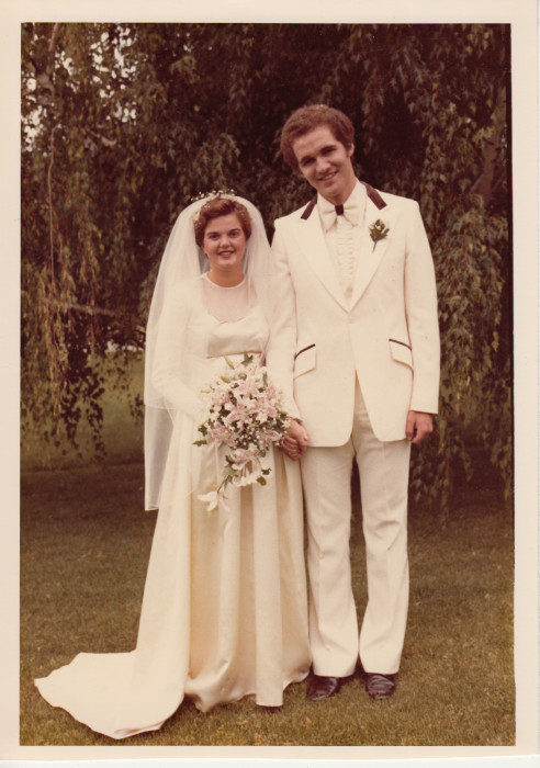 1980 Wedding of the original bride's daughter. The dress was pretty much unaltered.
